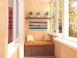 Внутренняя отделка балконов и лоджий в Аксае