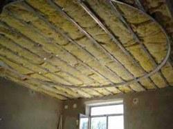 Утепление потолка в Аксае. Утеплить потолок г.Аксай